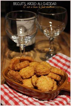 Biscuits apéro au cheddar
