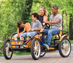 Touring Quadracycle | 10 Wacky Ways to Get Around