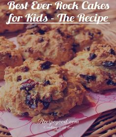 A rock cake or also called a rock bun is a small hard fruit cake with a rough surface, resembling a rock, but the taste is still divine with the crunchy outer but moist inside. According to a history, rock cakes originated in Great Britain, where...