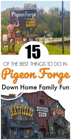 Spaß für die ganze Familie in Pigeon Forge, Tennessee - Travel - Vacation Family Road Trips, Family Travel, Family Vacations, Fun Vacations, Gatlinburg Vacation, Gatlinburg Tn, Hotels In Gatlinburg Tennessee, Tennessee Vacation Kids, Gatlinburg Restaurants