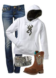 """""""Untitled #72"""" by dairy-showlife ❤ liked on Polyvore featuring moda, True Religion, Ariat e Nocona"""