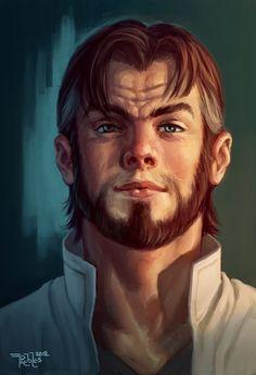 Ben Munroe Portrait by NickRoblesArt on deviantART