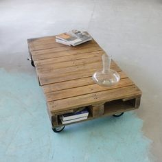 Pallet tafel @Tilanie Grote in Stijl