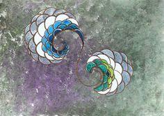 """Artista plástico @artist / artista plástico Quim Alcantara """"Inverno"""" 2012, acrílica sobre papel, 30 x 21 cm http://quim.com.br/inverno/"""