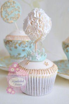 (via Stunning!! Dandelion cupcakes | Cupcakes♥Mini cakes)