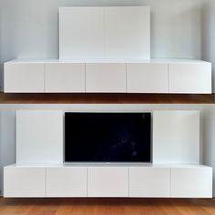 Zwevend tv meubel, met schuifdeuren Tv, Flat Screen, Blood Plasma, Television Set, Flatscreen, Dish Display, Television