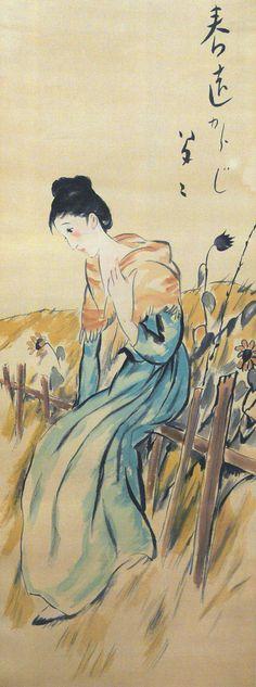 Takehisa Yumeji 竹久夢二 (1884-1934 ).