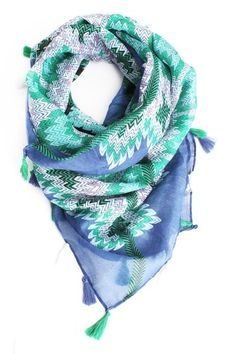 Tassel Hankerchief Scarf 20% OFF (only @Chictopia) #Chictopiainbloom
