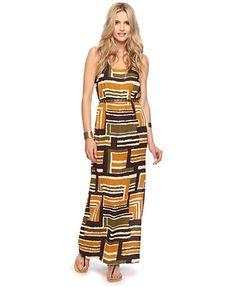 Static Geo Maxi Dress- Forever 21