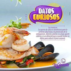 Siempre es buen momento para aprovechar los grandes beneficios de los mariscos... Encuentra los mejores productos en La Canasta.  #SupermercadoFamiliar #MásFresco #Ahorro #Duitama #Sogamoso