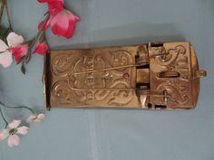Antique Bronze Mailbox by Treasurewasabi on Etsy