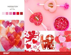 Yama Ribbons and Bows Co. Red And Pink, Innovation, Valentines Day, Ribbon, Clip Art, Bows, Photo And Video, Inspiration, Color