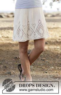 Spring skirts to knit - free patterns