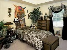 Animal prints don't have to be limited to your outfits and accessories  now-a-days. Animal prints in home dcor can make your interiors very  exciting as well