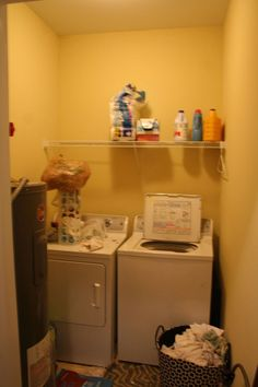 It is funny how a room can make you happy, or not. My laundry room was a room that I spent three or four days a week in and it was so gloomy, even with yellow p…