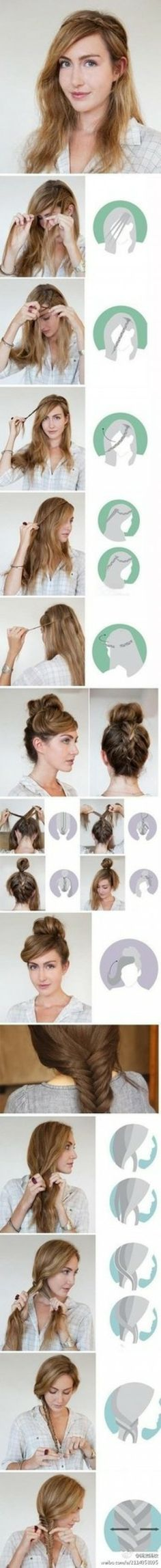 Saç örgü modelleri resimli anlatım