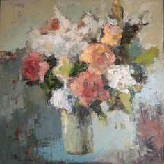 Art of Julia Klimova Paintings I Love, Beautiful Paintings, Floral Paintings, Fruit Bowl Drawing, Oil Painting For Beginners, Acrylic Painting Flowers, Artist Painting, Painting Inspiration, Abstract Art