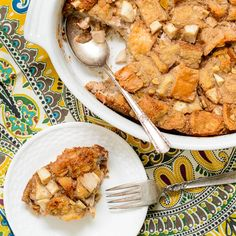 Pear Walnut Bread Pudding, recommended by Terri