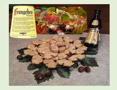 Hazelnut Liqueur Shortbread Cookies - Good Food And Treasured Memories Christmas Baking, Christmas Cookies, Thing 1, Shortbread Cookies, Great Recipes, Stuffed Mushrooms, Good Food, German, Memories