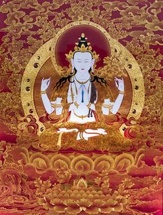 Chenrezig, Bodhisattva of Compassion by Cloud Cave, via Flickr