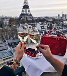 Raise a glass to the good life, Paris, Luxury, vacation, love, happiness, joy