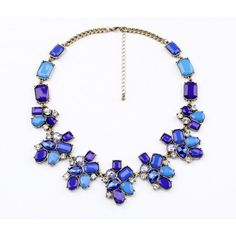 Alluring Gold Alloy Pendant Necklace With Nice Artificial Gemstones