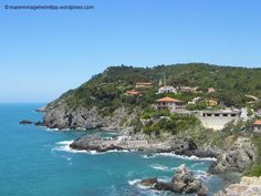 Beautiful beaches in southern Tuscany