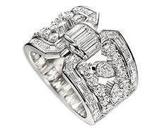 Harry Winston Caftan Diamond Ring