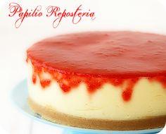 Tarta de queso light ~ http://papilioreposteria.blogspot.com.es/
