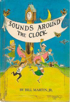 Sounds Around the Clock - Bill Martin Jr - 1966 - Vintage Book