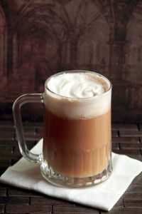 Just-Like-Hogsmeade's Butterbeer -- This is one butterbeer recipe you won't want to miss. It's such a sweet and bubbly dessert drink that you won't be able to resist. Three cheers for Harry Potter recipes!