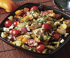 WW Recipes - Grilled Vegetable Salad