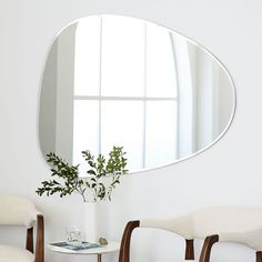 West Elm offers modern furniture and home decor featuring inspiring designs and colors. Create a stylish space with home accessories from West Elm. Wall Mirrors Set, Rustic Wall Mirrors, Living Room Mirrors, Dining Room Walls, Decorative Mirrors, Mirror Bedroom, Vintage Mirrors, Mirror Set, Mirror Ideas