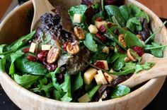 Thanksgiving Harvest Salad Idea This looks wonderful for Thanksgiving!