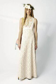 Vestidos de moda tejidos a crochet - Imagui