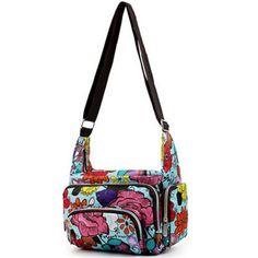 Women Messenger Bags 2015 Fashion Printing Nylon Waterproof Women Bag Mummy Casual Bags Shoulder Female Size 25*22*12cm YA0476 www.bernysjewels.com #bernysjewels #jewels #jewelry #nice #bags