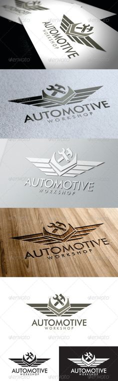 Automotive Workshop Logo #GraphicRiver