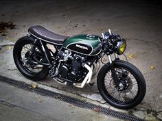 Honda cafe racer - Cars and motorcycles - Motor Vintage Cafe, Vintage Bikes, Vintage Motorcycles, Custom Motorcycles, Honda Motorcycles, Cafe Racer Honda, Cafe Racer Bikes, Tracker Motorcycle, Cafe Racer Motorcycle