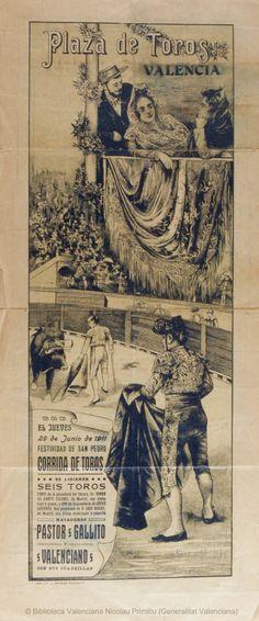 PLAZA DE TOROS DE VALENCIA.1911