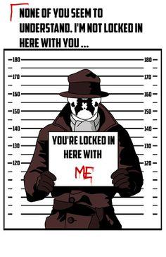 Rorschach Arrest Photo Art Print