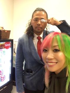 Shinsuke and Asuka