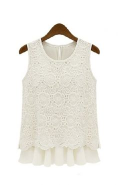 Lace top @scrapwedo