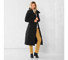 Dlhá bunda | blancheporte.sk #blancheporte #blancheporteSK #blancheporte_sk #zimnákolekcia #zima Duster Coat, Normcore, Jackets, Style, Fashion, Down Jackets, Swag, Moda, Fashion Styles