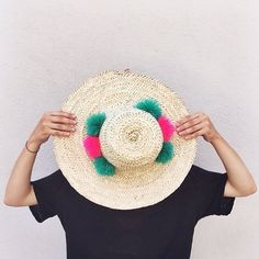 PomPom Hats // Eliza Gran