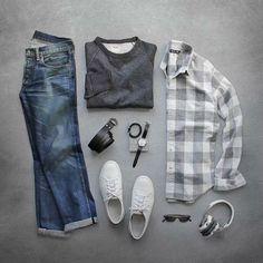 Camisa Xadrez Masculina: 12 Looks Mostram Porque Ela Ainda É Essencial