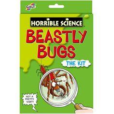 Galt Horrible Science Kit- Beastly Bugs £5.99