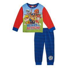 Paw Patrol Boys' multi-coloured 'Paw Patrol' pyjama top and bottoms set | Debenhams