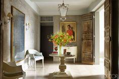 John Saladino Manhattan Apartment - Urban Apartment Design - ELLE DECOR