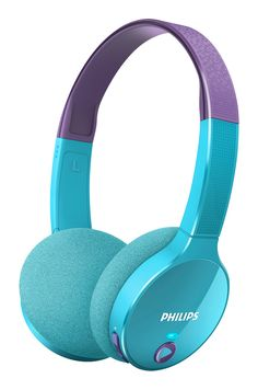 The Bluetooth headphones are designed for your young music lovers. Ultralightweight, soft cushions and tailor-sized headband are made for growing kids to enjoy music wirelessly. A volume cap of keeps music fun yet safe. Beats Studio Headphones, Cute Headphones, Over Ear Headphones, Justice Toys, Music System, Philips, Bluetooth Headphones, Technology Gadgets, Audiophile