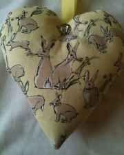 Easter Gift / Easter Rabbit Fabric Lavender Bag / Rabbit Gift  - Handmade